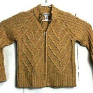 Pendleton Merino Wool Chunky Cable Knit Sweater